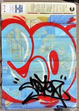 COPE 2 - graffiti sur plan métro NYC subway MTA map -seen/futura/taki/quik/dondi