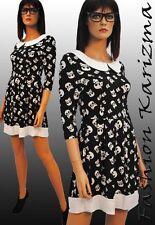Unbranded 3/4 Sleeve Skater Dresses for Women