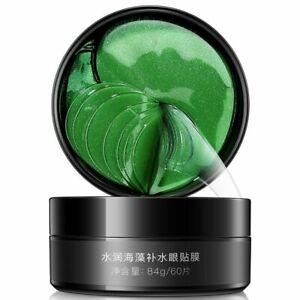 Moisturizing Eye Patches Natural Seaweed Mask Anti Age Bag Eye Wrinkle 60 Pcs