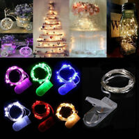 20 LED 2M String Fairy Lights Battery Operated Xmas Party Room Decor