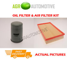 PETROL SERVICE KIT OIL AIR FILTER FOR VAUXHALL VECTRA 1.8 125 BHP 2000-02