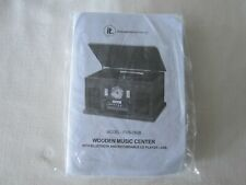 New Innovative Technology IT Wooden Music Center Bluetooth Record CD ITVS-760B