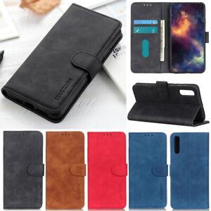 Luxury Matte Wallet Leather Flip Case Cover For Sony Xperia 1 II 10 II 5 II L4