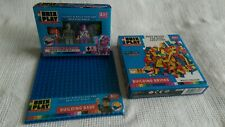 Brix Play Building Blocks Figures And Base Bundle Brand New