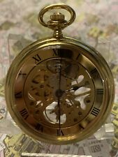 Bulova Caravelle Skelethonized Pocket  Watch Montre Orologio Tasca