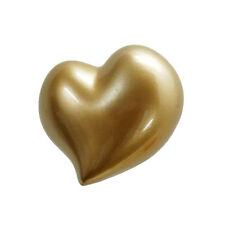 Appendiabiti gancio da parete a forma di CUORE dorato love design Antartidee