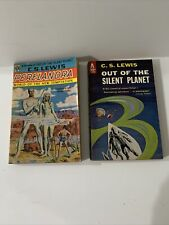 Lot Of 2 Vintage Science Fiction Paperbacks , C.S. Lewis
