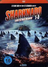Sharknado 1-5 Box mit 9 Filme mit 12 Stunden Laufzeit [FSK16] (4 DVDs)