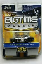 Jada Toys 1:64 Scale Big Time Muscle '71 CHEVY CAMARO (BLACK) #CLTR 063