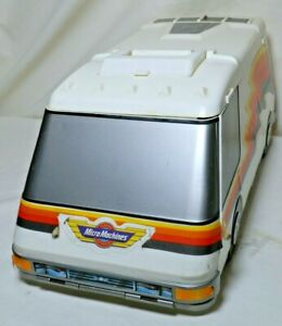 Micro Machines Vintage 1991 Galoob Super Van City Fold Out Playset with Cars, A+