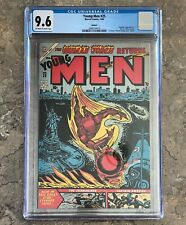 YOUNG MEN # 25 REPRINT CGC 9.6  NM+ MARVEL COMICS 1994 Golden Age Human Torch