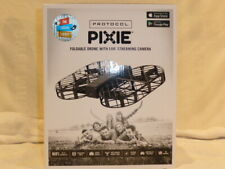 Protocol Pixie Foldable Drone with Live Streaming Camera New $160