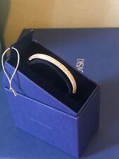 Swarovski Stone Bangle Mini Rose Gold Crystal Original Brand New Gift Box Size M