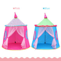 Princess Tent  House Castle Girls Playhouse Kids In/Outdoor Fairy Play Tent