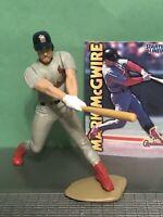 1999 Mark Mcgwire Starting Lineup Baseball figure Card toy Stl Cardinals MLB A's