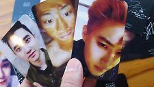 EXO PHOTO CARD ((078)) - LOTTO (Repackage) MAN ver. - SEHUN GROWL LAY MAMA