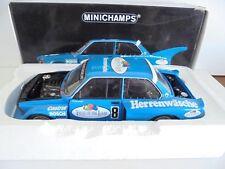 1/18 . BMW 320i - P.SCHNEEBERGER - DRM 1977      MINICHAMPS
