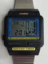 Rare Vintage Casio SW-110 Soccer Timer Watch Japan (1986) Retro 80's