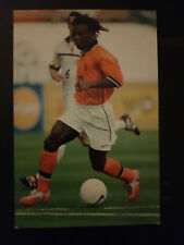 AUTOGRAMMKARTE / AUTOGRAPHCARD Holland national team Clarence Seedorf