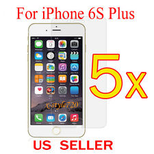 5x Clear LCD Screen Protector Guard Cover Film For Apple iPhone 6s Plus 5.5""