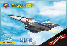 Modelsvit 72053 Dassault Mirage 4000 twinjet fighter plastic kit 1/72