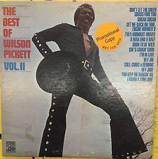 The Best Of WILSON PICKETT Vol. II White Label Promo Atlantic VG LP 1971