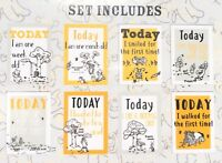 Disney Winnie The Pooh Tigger Milestone Cards Set of 8 Boxed Gift Baby Shower