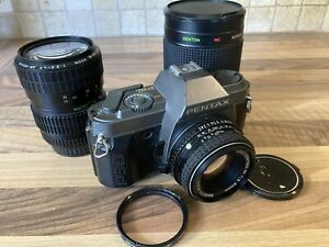 PENTAX P30T Vintage film Camera BUNDLE