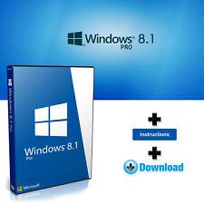 Windows 8.1 PRO Professional 32-64bits Licencia digital - Entrega en 3 segundos