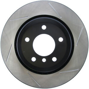 Disc Brake Rotor-Sport Slotted Brake Disc Rear Left Stoptech 126.34057SL