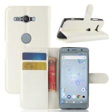 Cartera De Bolsillo Premium Blanco para Sony Xperia XZ2 COMPACT