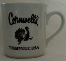 Vintage Cornwell's Turkeyville USA coffee mug cup ONLY ONE ON EBAY! Marshall MI