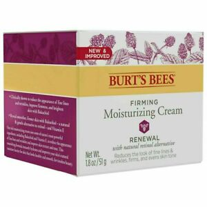 Burt's Bees Renewal Firming Moisturizing Cream 1.8 oz.