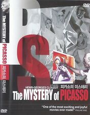 The Mystery of Picasso (1956) Henri-Georges Clouzot / Pablo Picasso DVD *FAST SH