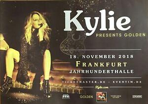 KYLIE MINOQUE   2018 FRANKFURT -- orig.Concert Poster - Konzert Plakat  AO  NEU