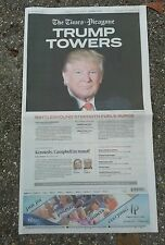 DONALD TRUMP WINS PRESIDENT ELECTION NEW ORLEANS TIMES PICAYUNE NEWSPAPER 11/09