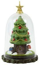 Gnome for the Holidays 2016 Hallmark Ornament - Christmas Tree Glass Dome Garden