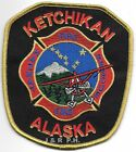 "Ketchikan  Fire - Rescue - HAZMAT, Alaska (4"" x 4.5"" size)  fire patch"