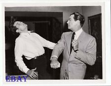 Robert Taylor punches Jack Lord VINTAGE Photo Tip On A Deadly Jockey