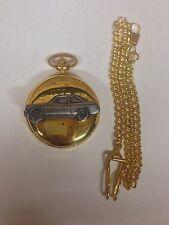 FORD Escort Mk2 2 PORTE ref79 PELTRO Effetto Oro Case Pocket Watch