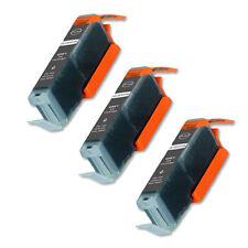 3 GRAY Ink Cartridge w/ CHIP fits Canon CLI-251XL MG7120 MG6320 Pixma Photo