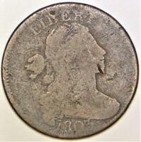 1803 Large Date, Large Fraction Draped Bust Large Cent; G Details