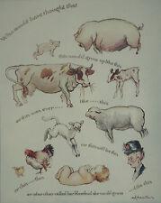 Baby Rosebud Tis Sad How Thing Do Change W K Mountain 1930 Page Humourous Print