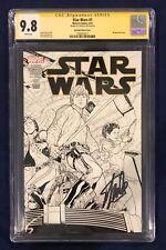 Star Wars #1 Joe Quesada Sketch Cover 1:500 CGC 9.8 Signed- Stan Lee on 10/23/18