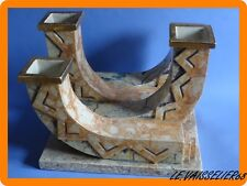 BLOC VASES BOUGEOIRS ART DECO CERAMIQUE NANCY MOUGIN REF 330.J