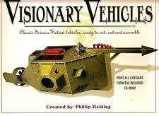 Visionary Vehicles Phillip Fickling 8 Designs CD-Room BK Science Fiction Vehicle