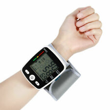 2019 Upper Arm LCD Display Automatic Wrist Blood Pressure Monitor Household Use
