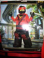 Lego Ninjago Movie KAI Prestige Edition Child Costume M Medium 7-8 Padded Tunic