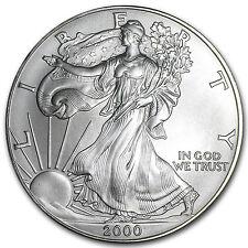 2000 1 oz Silver American Eagle BU - SKU #1058