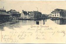 Bodenseeschiffspost, AK aus Rorschach, verandt in Konstanz, 1899
